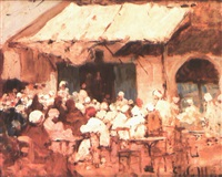 café tunisien by georges le mare
