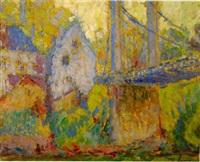 paysage de gironde by joseph louis lépine