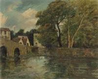 bourton on the water by adrian keith graham hill