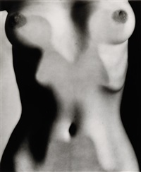 abstract torso by ruth bernhard