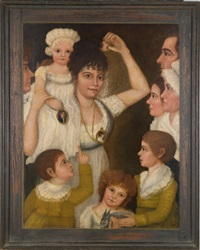 the smith-king family portrait by james smith (captain)