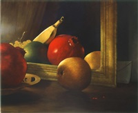 fruits in a frame by moni leibovitch