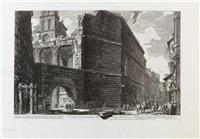 Veduta degli Avanzi del Foro di Nerva, 1757