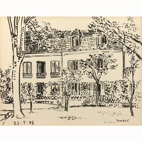 Vues de la maison et du jardin de jeanne loviton 11 rue de lassomption paris xvie by orfeo for Maison du jardin paris