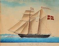 the schooner niels gulding by michele renault