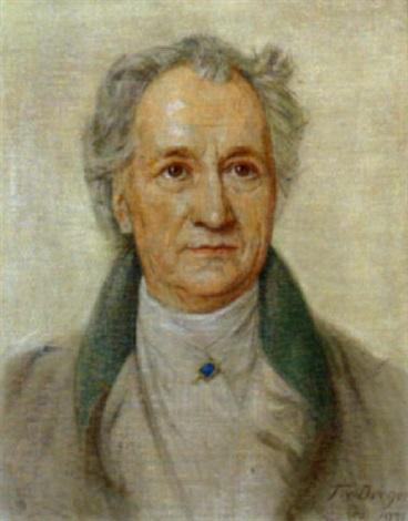 Bildnis Johann Wolfgang Von Goethe By Tom Von Dreger On Artnet