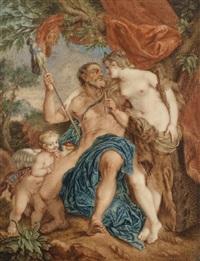 herkules und omphale by françois lemoyne