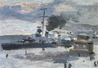 la flotte anglaise en mer du nord by alexei koltsov