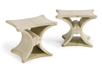 side tables (pair) by jean-michel frank