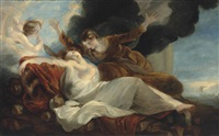 la mort de didon by joshua reynolds
