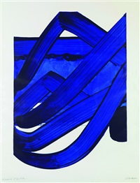 serigraphie n°18 by pierre soulages