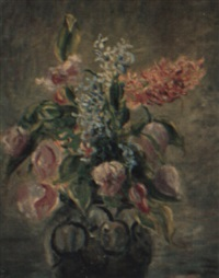 vase de fleurs by valentine synave nicolaud (fray) val