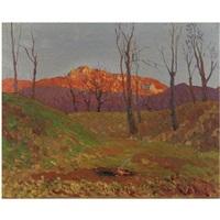tramonto sul monte besa by oreste albertini