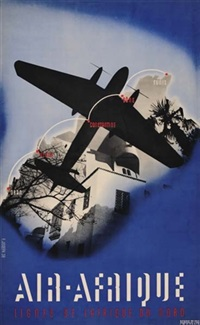 air afrique by posters: planes