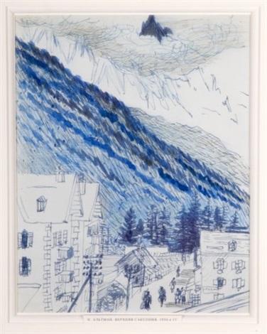 paysage de savoie by natan isaevich altman