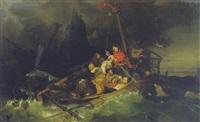 les naufragés by a. garnier