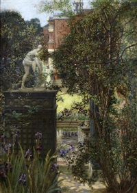 a london garden by edith corbet