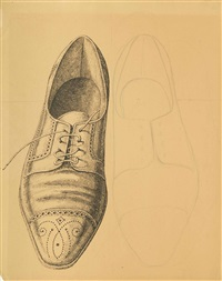 le scarpe (the shoes) by domenico gnoli