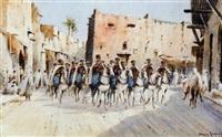 régiment de spahis, sidi okba, sud tunisien by bernard rambaud