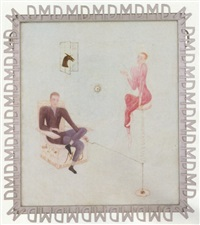 portrait of marcel duchamp by florine stettheimer