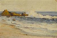 a song of the sea, laguna beach by anna althea hills