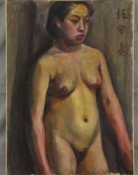 female nude by makoto saburi