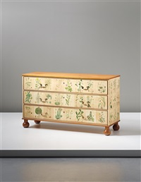 chest of drawers, model no. 1050 by josef frank