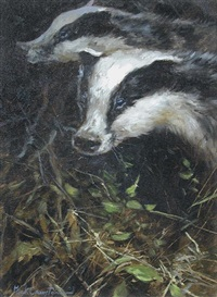 badgers by mick cawston