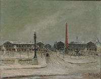 la place de la concorde by georges guido filiberti