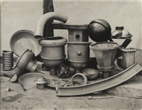 nature morte industrielle by august sander