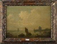 pêcheurs en bord de mer by baron jean antoine théodore gudin