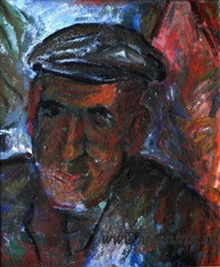 male portrait by leonid arins