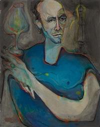 retrato de gaspar arias by angel acosta leon