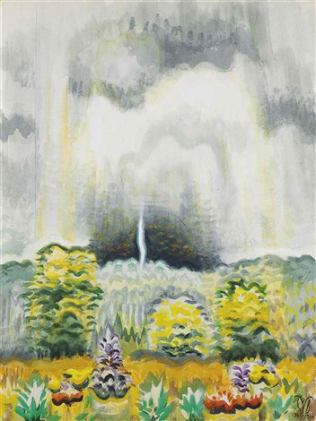 the distant boom of thunder by charles ephraim burchfield