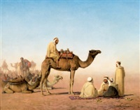 le campement arabe by henrik august ankarcrona