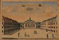 Nine Danish prospects, some with Danish palaces...