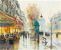 les champs elysees by constantine kluge