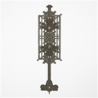 baluster from the schlesinger and mayer department store, chicago by louis henri sullivan