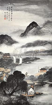 米家山水 by wang kun