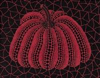 红南瓜 red pumpkin by yayoi kusama