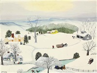 whoa there by grandma moses
