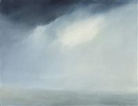 seascape (indigo blue) no. 5 1999 by chris langlois