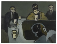 the bar ii by keith vaughan