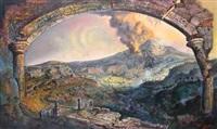 merapi eruption by hendra buana