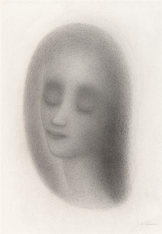 female portrait by jules vermeire