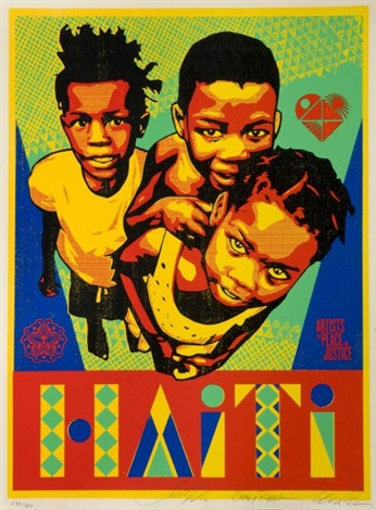 haïti by shepard fairey