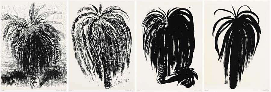 palm tree 1 2 3 4 4 works by brett whiteley