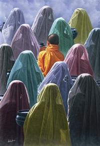 the saffron robe by aung kyaw htet