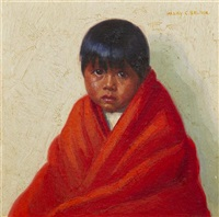 indian boy by henry balink