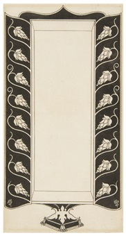 cover design (from the keynotes series of novels and short stories) by aubrey vincent beardsley